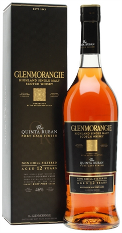 Glenmorangie Scotch Single Malt 12 Year Quinta Ruban